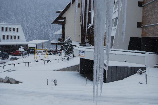 Hotel Marsal : view from the window, 2