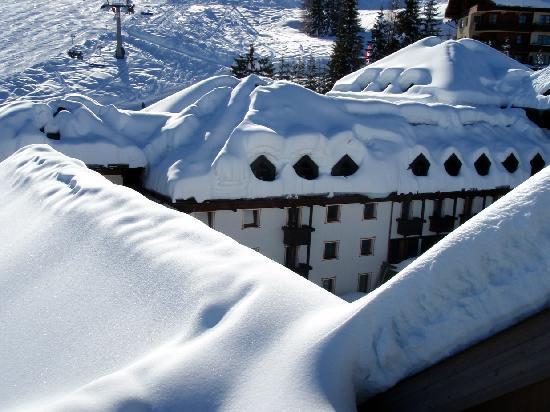 Robinson Club Schlanitzen Alm: incredibly snowy winter