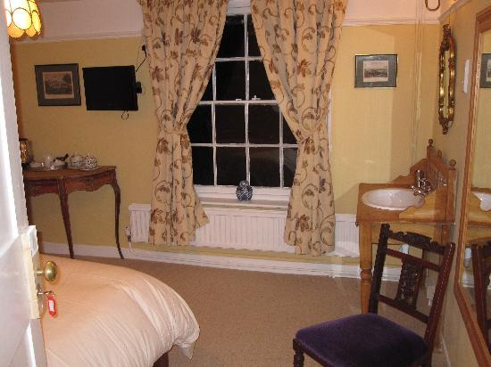 The Peacock Inn: One of the Bedrooms