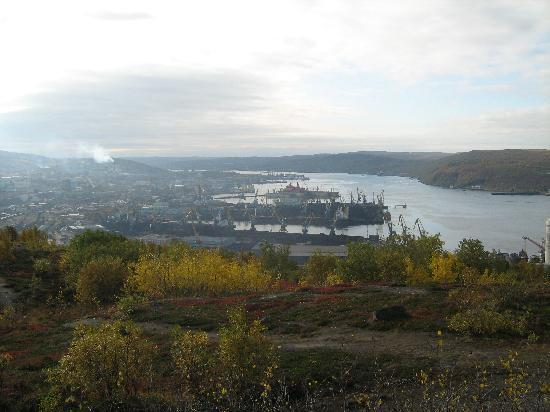 Murmansk, Rusia: Port.