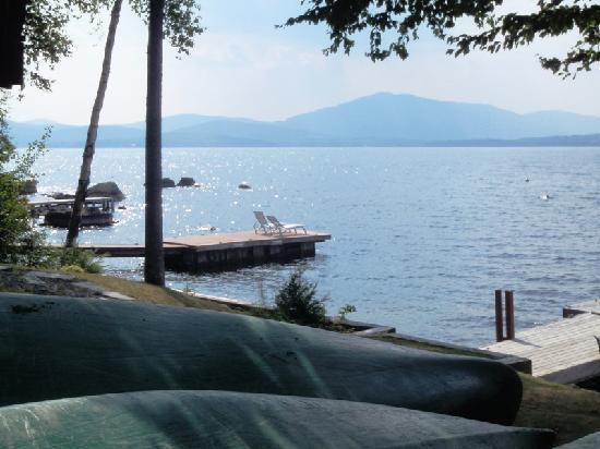 Cozy Moose Lakeside Cabin Rentals: Lakeside Canoe and Kayak Rentals