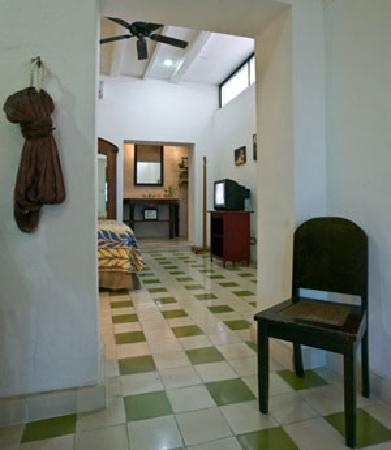 A spacious room at Luz En Yucatan