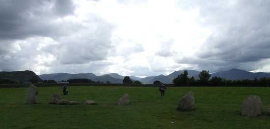 Castlerigg, UK: some of the surrounding hills