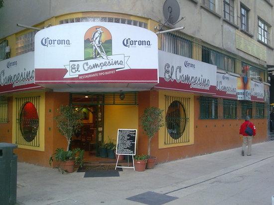 Restaurante El Campesino: El Campesino, antes El Campirano. Monumento a la Revolución. México