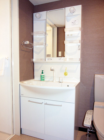 Family Inn Saiko: Private washstand also provided