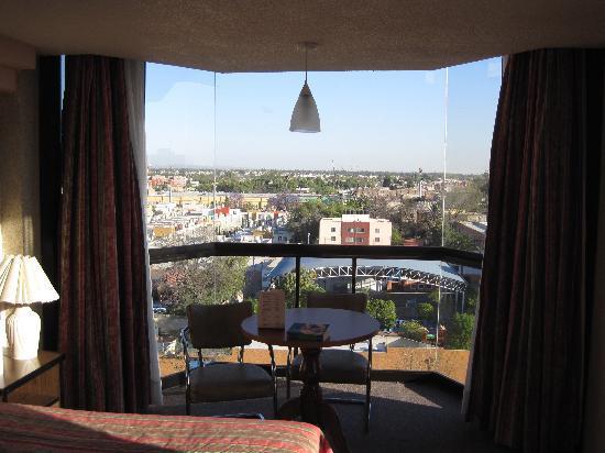 Hotel Real Plaza: la vista a la ciudad