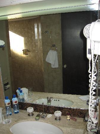 Hotel Real Plaza: el baño