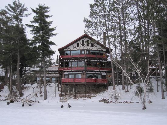 Garmisch USA Resort: Lodge From Lake Namakagon