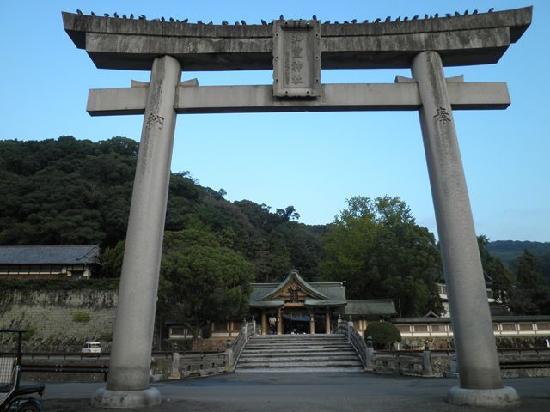 Warei Shrine: 大鳥居