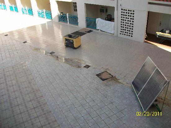 Casa Grande Airport Hotel : the pool area