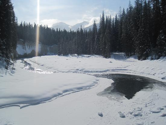 Radium Hot Springs, Canada: Winter Wonderland