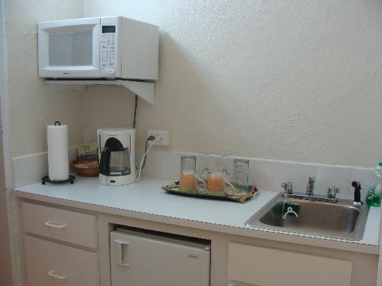 Carringtons Inn St. Croix: Flamboyant Kitchenette
