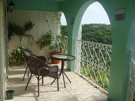 Carringtons Inn St. Croix: Flamboyant Balcony