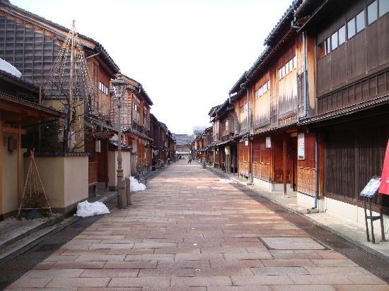 Higashichaya Old Town : ひがし茶屋街