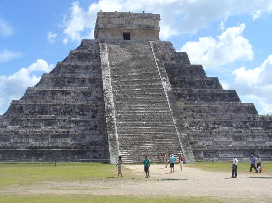 Chichen Itza, Mexiko: Piramide