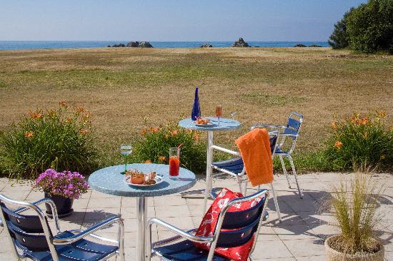 Lesconil, Франция: Terrasse panoramique