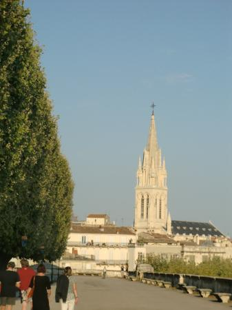 Montpellier, France: chiesa