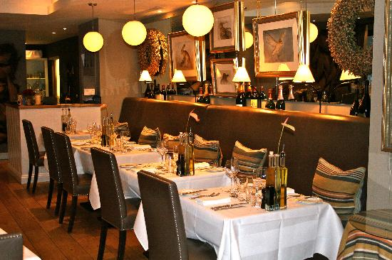 The White Horse Hotel and Brasserie: Brasserie at The White Horse