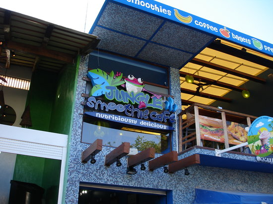 Jungle Smoothie Cafe : The Outside