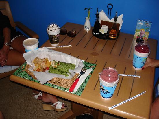 Jungle Smoothie Cafe : Good food!