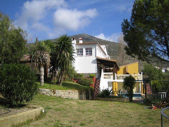Casa la Parra: im Garten 1