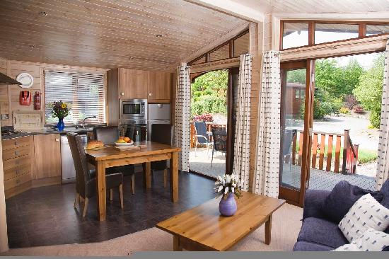 Luxury pinelodge at Blairgowrie Holiday Park