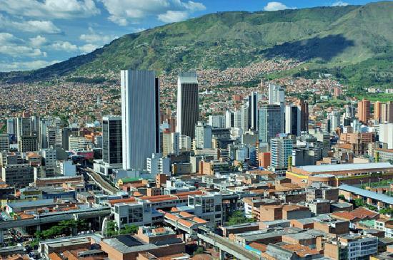 Vista de Medellin