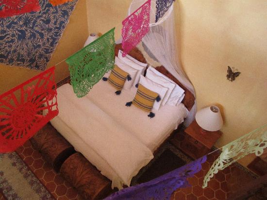 Hacienda Las Trancas: bedroom