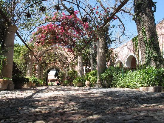 Hacienda Las Trancas: courtyard