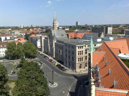 Braunschweig, Germany: Blick vom Rathausturm