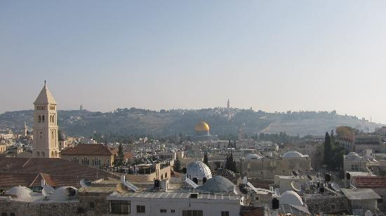 Petra Hotel & Hostel: Roof View 1