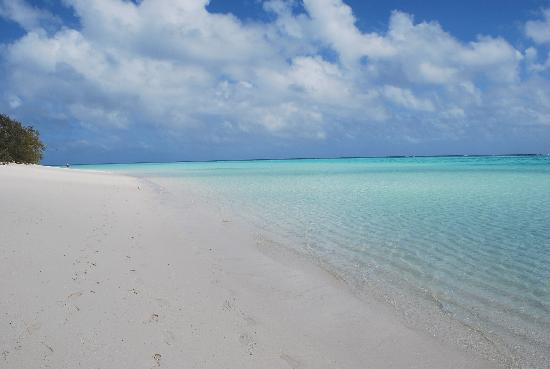 Heron Island Resort: Deserted beaches are always here, even though the island is small.