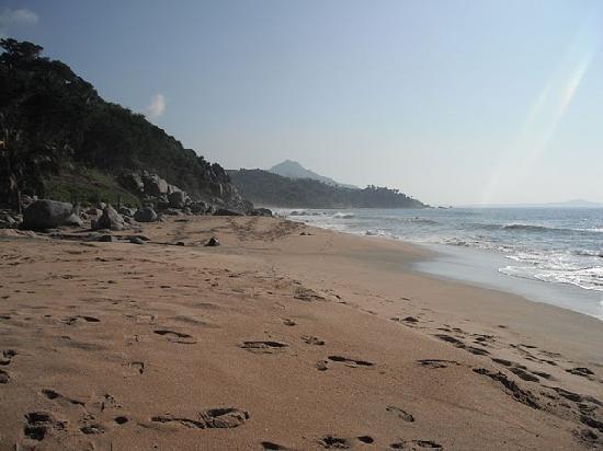 Playa Escondida: the long gorgeous stretch of beach at Playa