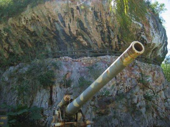 Saipan, Mariana Islands: eine Kanone