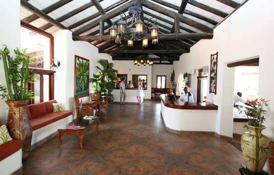 Sugar Cane Club Hotel & Spa: Reception