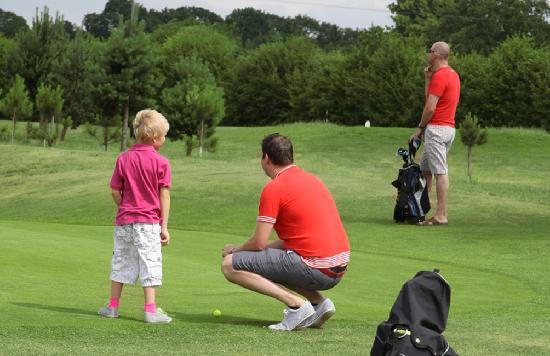 South Staffordshire Golf Club Academy: Families enjoying the course at Ledene