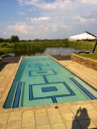 Gaborone, بوتسوانا: Pool view