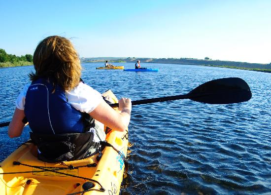 Pasco, Ουάσιγκτον: Kayaking on the Columbia, Tri-Cities, WA - Photo by: Kim Fetrow