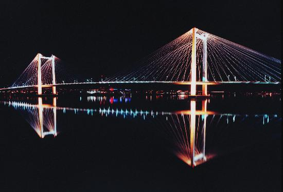 Pasco, Ουάσιγκτον: Cable Bridge, Tri-Cities, WA