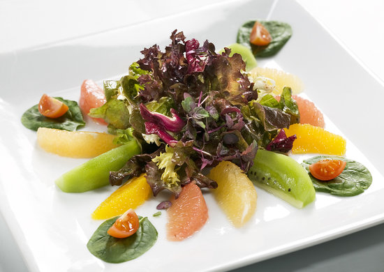 Restaurante Bacco: Ensalada citricos