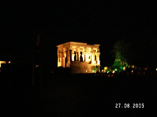 Philae sound & light