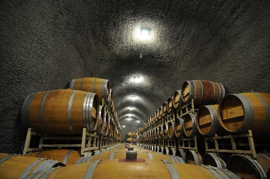 West Richland, WA: Wine caves in the Heart of Washington Wine Country, Tri-Cities, WA - Photo by: J. Hobson Photogr
