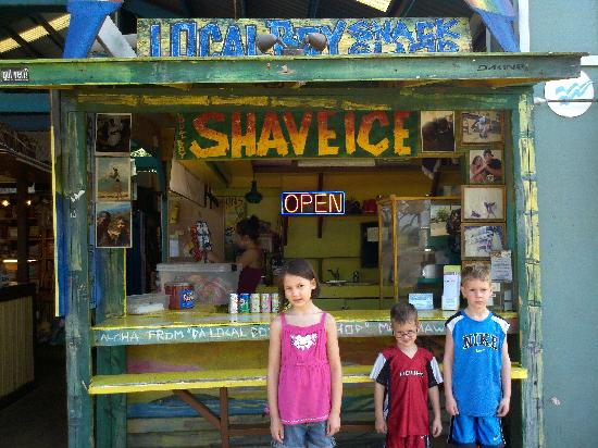 Local Boy Snack Shop: The front of Local Boy