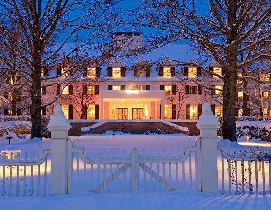 Woodstock Inn and Resort: Exterior Winter