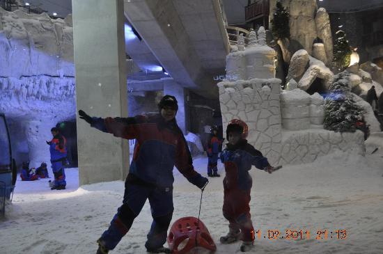 Ski Dubai: Inside snow park