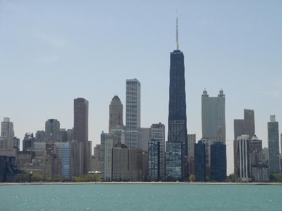 The Magnificent Mile: skyline von chicago
