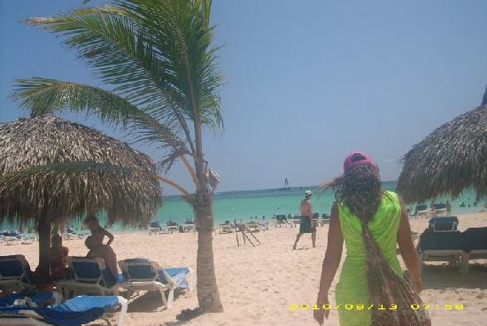 Grand Bahia Principe Punta Cana : the beach