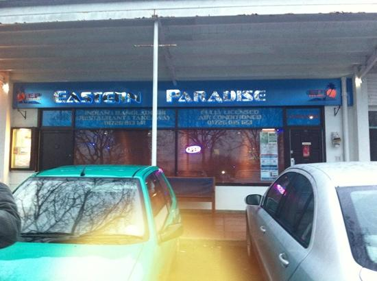 Eastern Paradise Indian Restaurant: outside