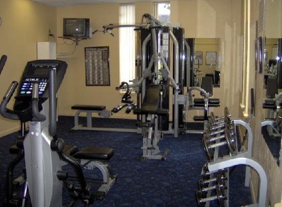 Islander Beach Resort: Exercise Room