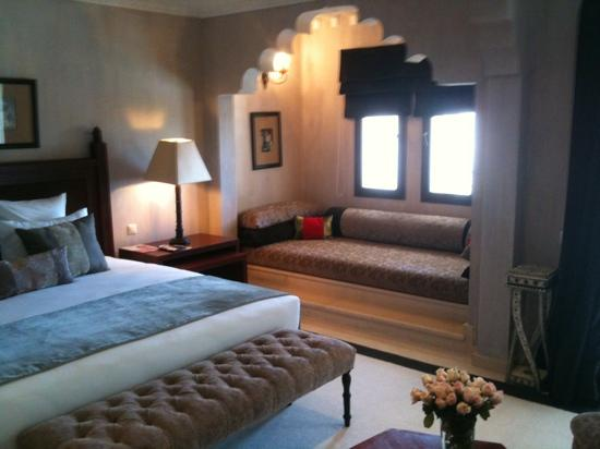 Riad Villa Blanche: Room 208; Junior Suite. 2/24/11